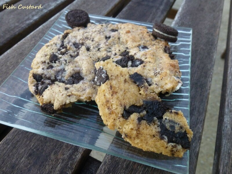 Maxi cookie aux Oreo (19)
