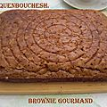 Brownies gourmand