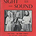 Sight and Sound (Gb) 1954