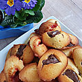 Recette madeleines nutella ou confitures ...