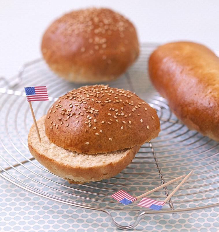 Pains pour burger et hot dog maison