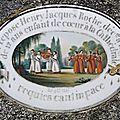 2013/04 Cimetière de Louyat et plaques en porcelaine