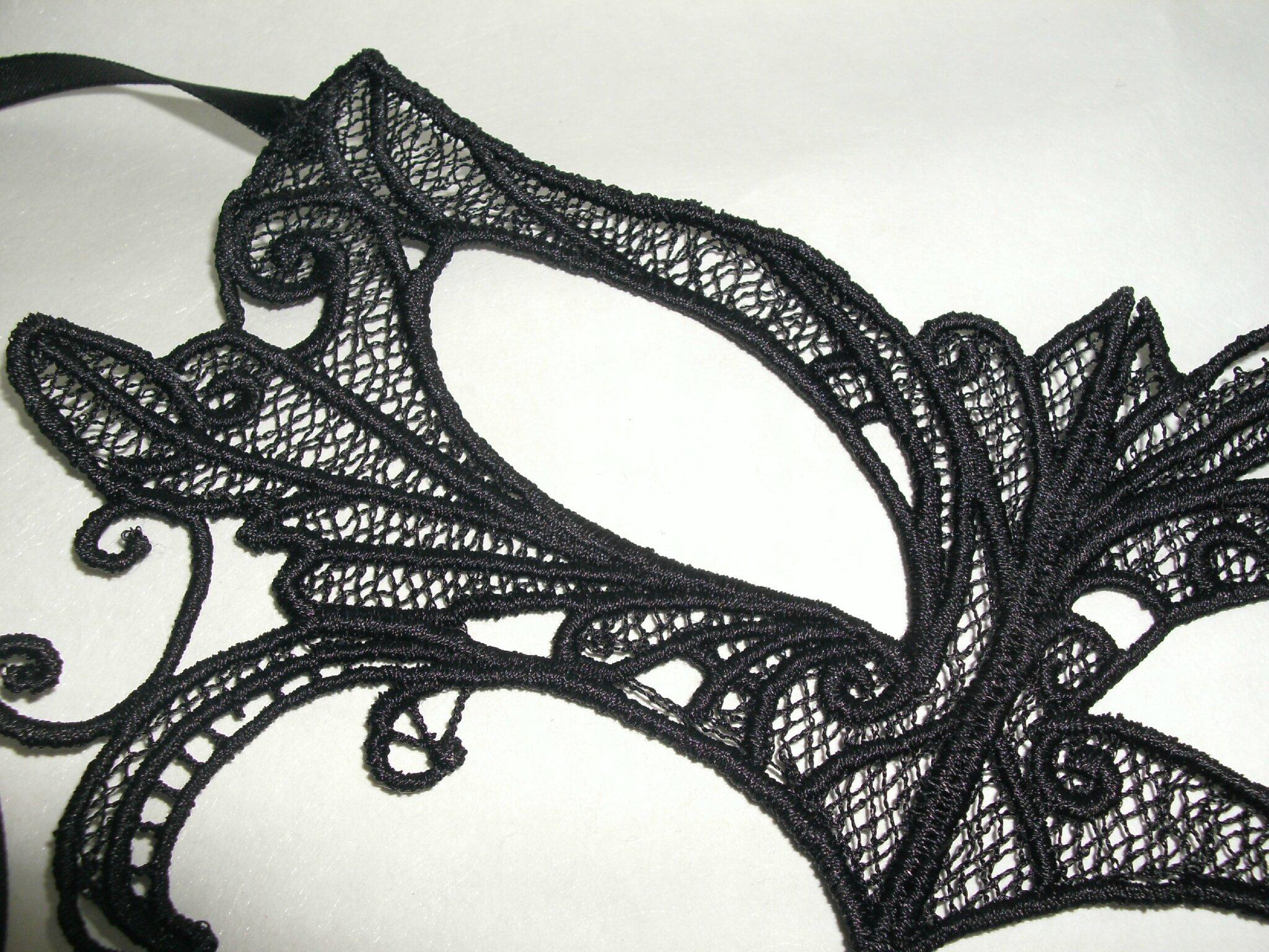 masque vénitien broderie, dentelle, lace amd a coudre (2)