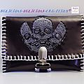 purse innerskull brown c
