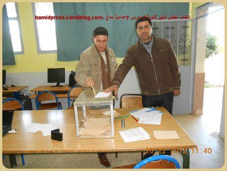 ELECTION DU C