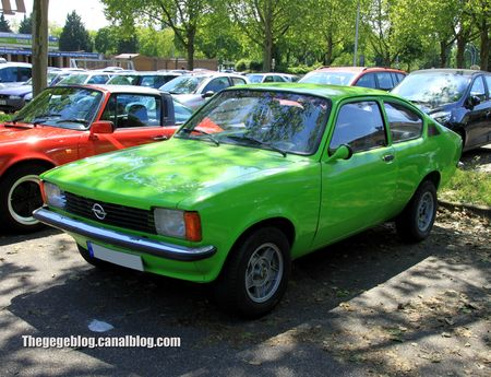 Opel kadett type C (1973-1979)(Retrorencard juin 2013) 01
