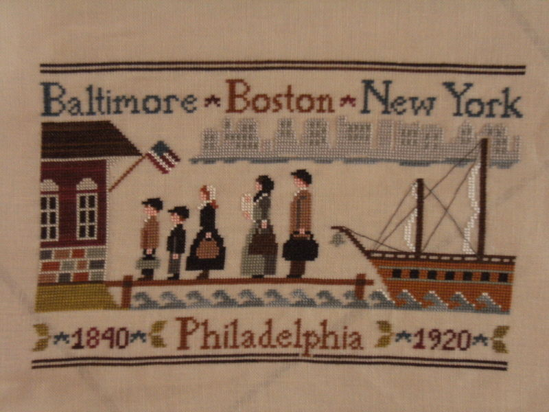 Coming to America - Little House Needleworks