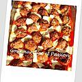 Boulettes de boeuf tomate/mozzarella