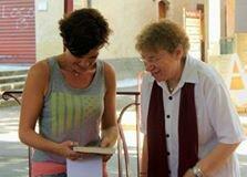 9 - et son épouse Aline, la Libraire, si attentive aux auteurs invités