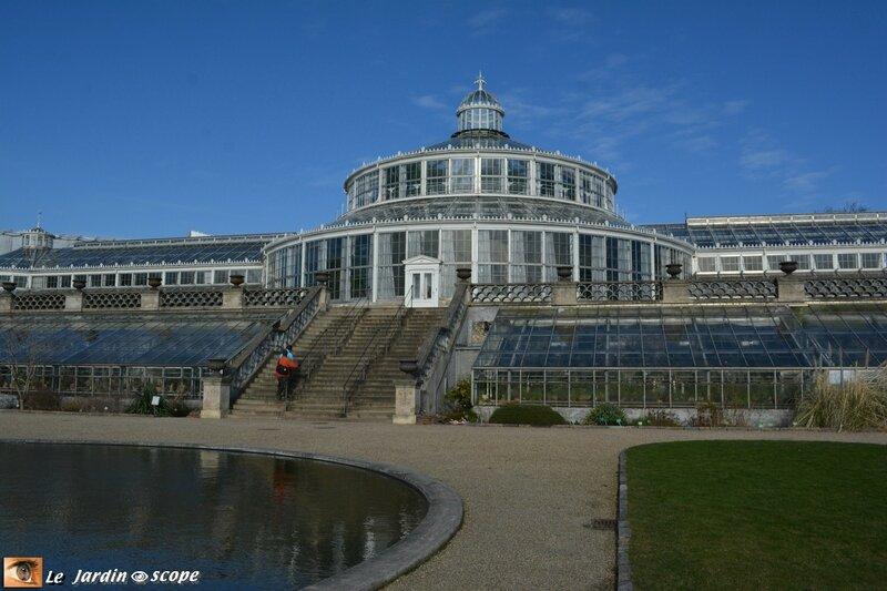 Les grandes serres du Botanisk Have à Copenhague
