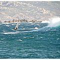La hauteur des vagues / extrême-sud corse