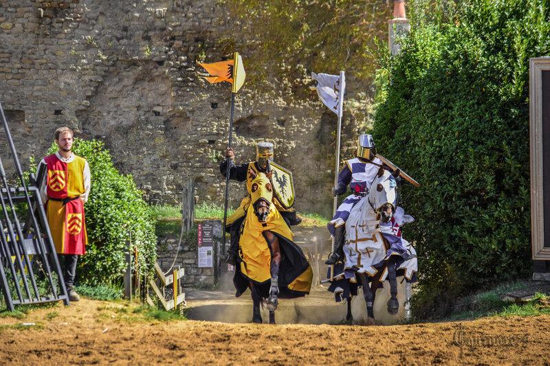 Croisade Guy de Lusignan à la rencontre du roi d'Angleterre Richard Cœur de Lion (3)