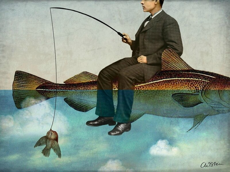 Catrin Welz-Stein - German Surrealist Graphic Designer - Tutt'Art@ (66)