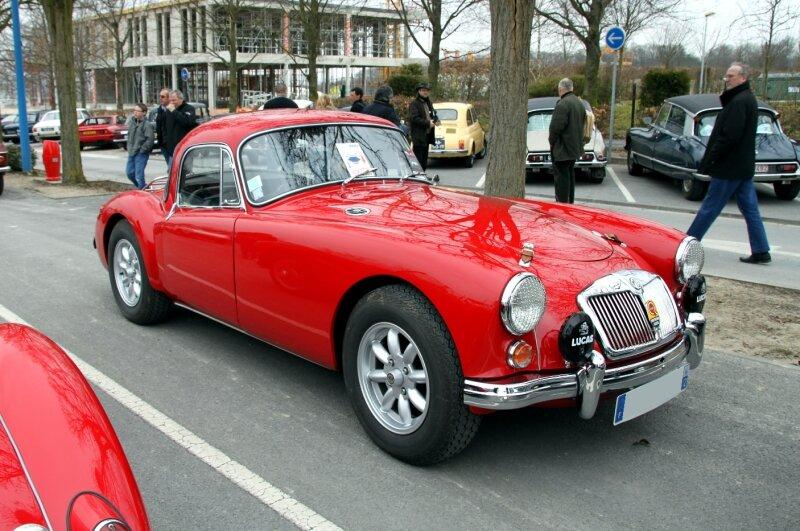 MG type A 1600 (23ème Salon Champenois du véhicule de collection) 01