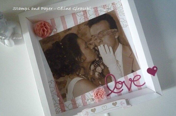 Cadre LOVE -2
