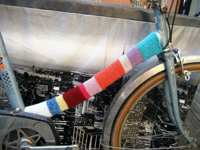 urban knitting bike