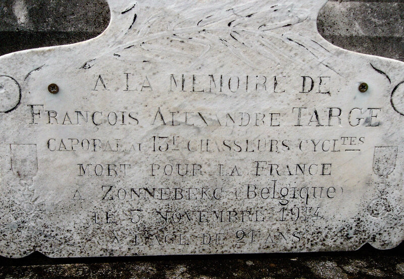 à la mémoire de François Alexandre Targe