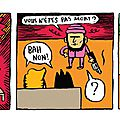 Strip 16 / bill et bobby / saucisson ?