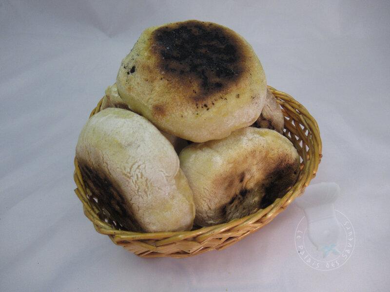 Petits pains au potiron à la poêle