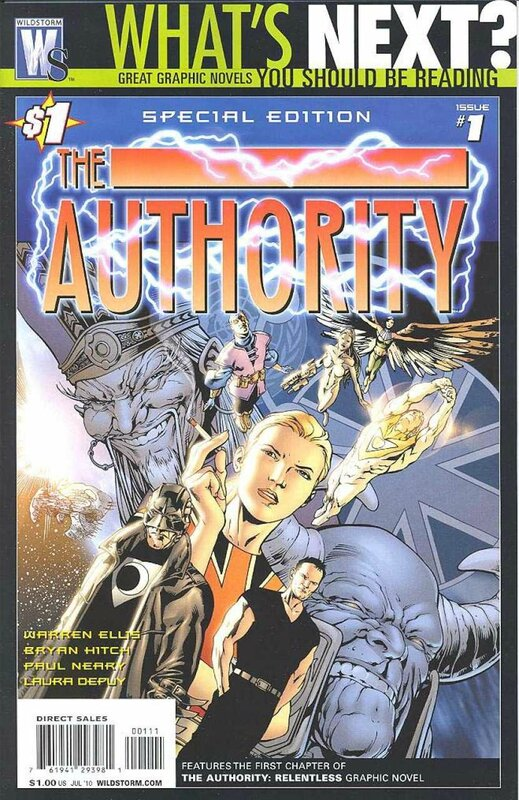 wildstorm authority 01 special edition