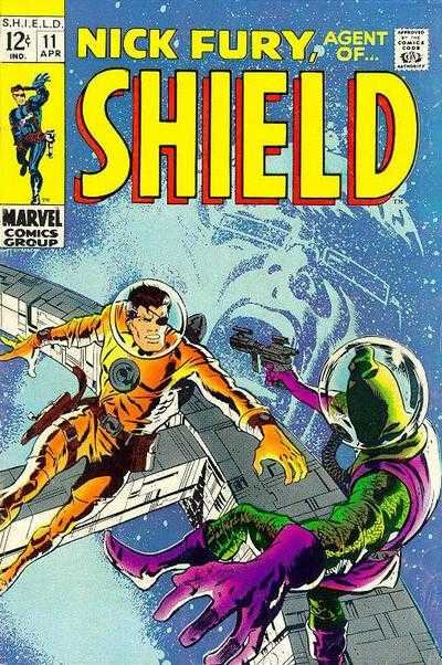 nick fury agent of shield 1968 11