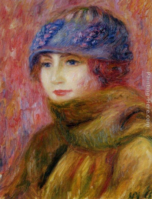 Woman_In_Blue_Hat