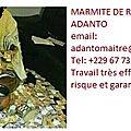 La marmite sacree du maitre marabout medium voyant adanto