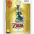 Zelda : skyward sword - wii