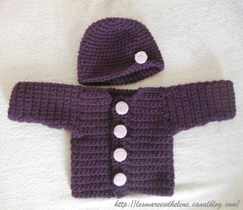 Gilet & Bonnet - Crochet 2014