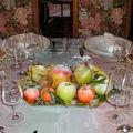 centre de table fruits givrés 05