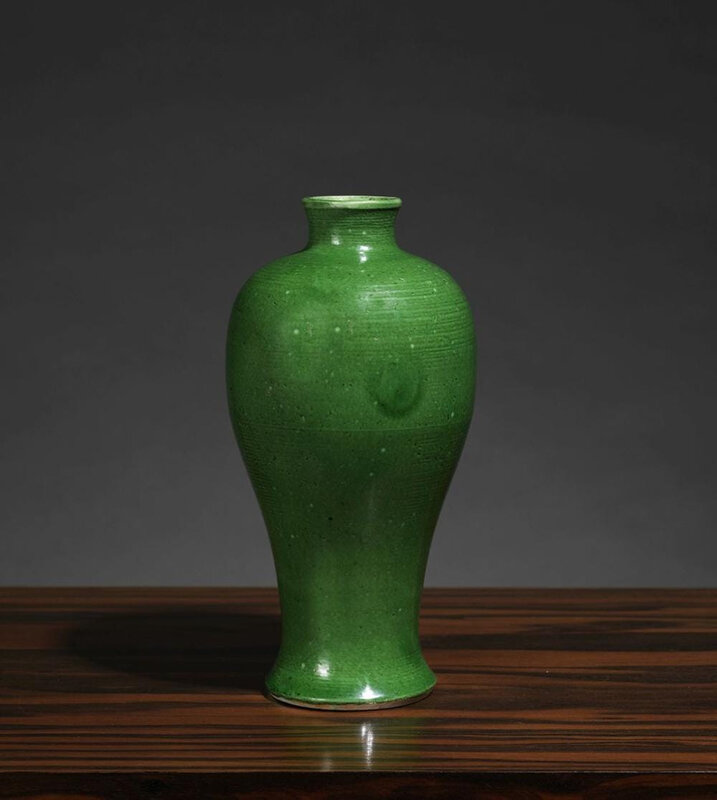 Vase meiping, Chine, Dynastie Ming, ca 17° siècle