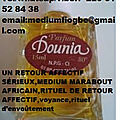 PARFUM DOUNIA-MARABOUT VOYANT FIOGBE-AFFECTION RAPIDE