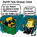 Kadhafi menace l'europe