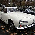 Volkswagen type 14 1600 karmann ghia coupe - 1955 à 1970