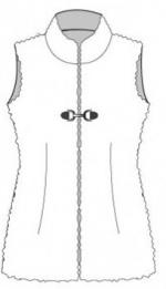 Made in Me Couture - Gilet Fourrure