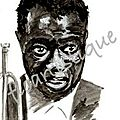 Carte Louis Armstrong