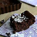 Fondant au chocolat, beurre de coco & lentilles corail...ig bas