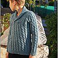 Mieux vaut tard que jamais ou le tricot qui dure ....