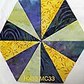 Défi hexagones france patchwork 2017