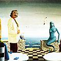 Ferdi Posthuma de Boër (1930-1995) 019 Rêve sur une terrasse de café au Mans 1984