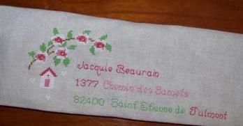 L'enveloppe élégante de Brigitte Bribricol