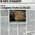 Article journal La Gazette le 25 juillet 2013
