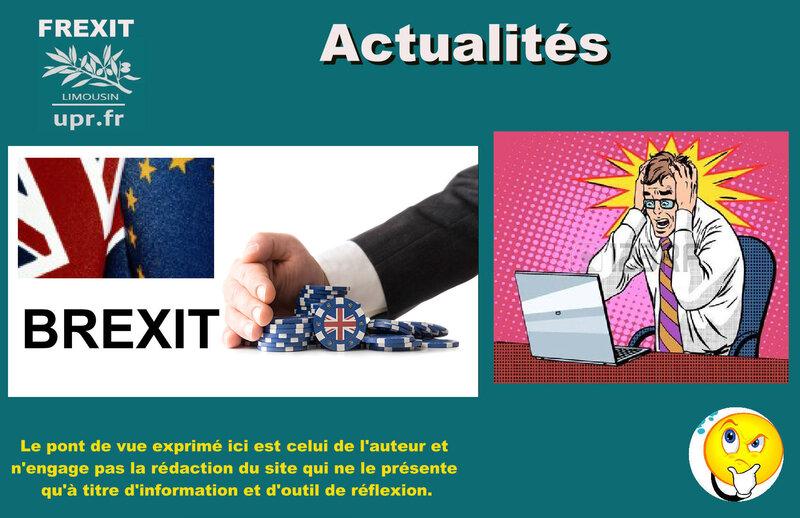 ACT BREXIT PEUR