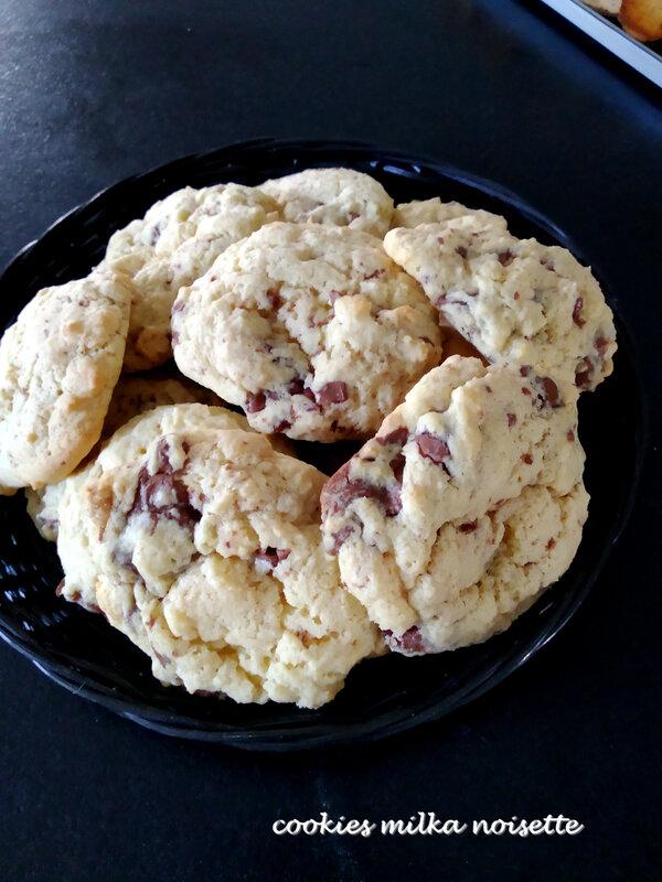 cookies milka noisette
