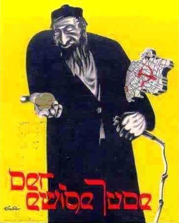 affiche propagande nazie antisémitisme