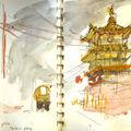 Début du voyage en inde, dans la région de dharamsala, le tibet reconstitué.
