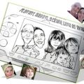 Caricature famille Playstation