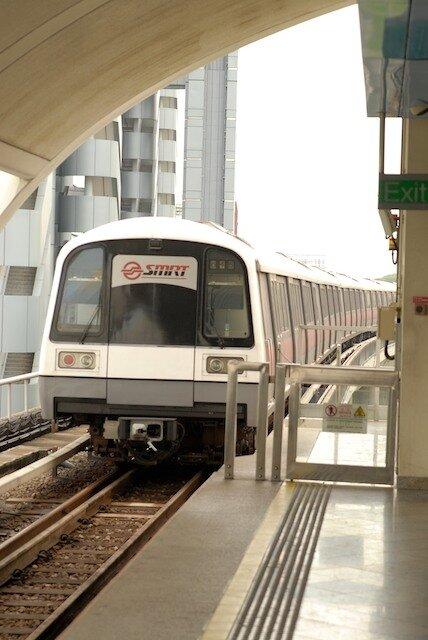 Le métro : MRT
