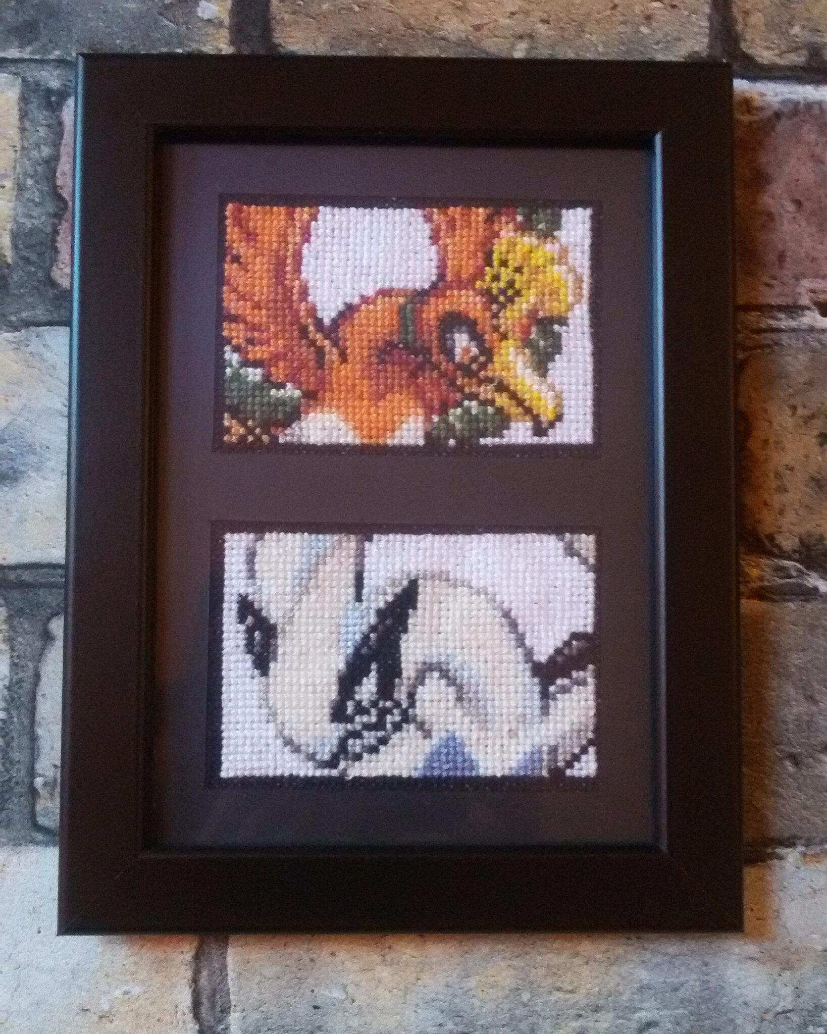 Broderie Pixel Art Pokemon