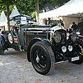 BENTLEY 4 1/2 Litre Vanden plas Open Tourer 1929 Schwetzingen (1)